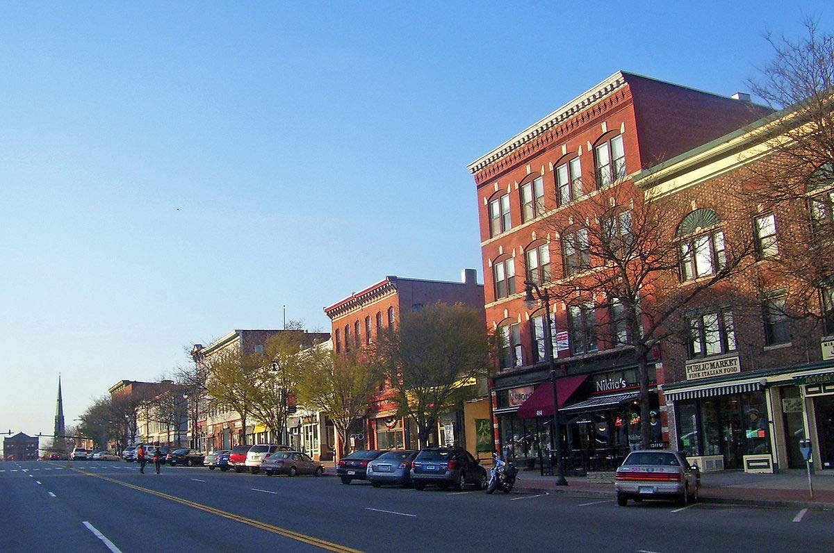 Downtown Middletown, Lower Connecticut River Valley